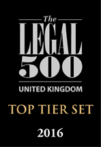 Photo of The Legal 500, 2016