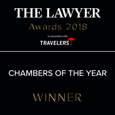 Photo of Wilberforce wins Chambers of the Year at The Lawyer Awards 2018
