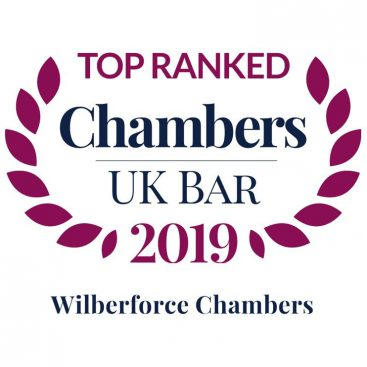 """Photo of Chambers UK Released:  Wilberforce is """"a 21st century operation"""" where barristers are """"technically brilliant but also highly commercial"""""""