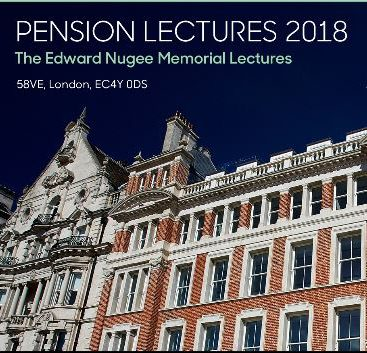Photo of Pensions Lectures 2018 #1