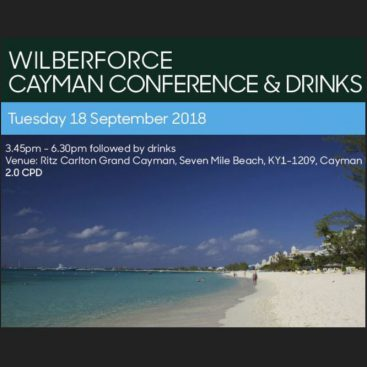 Photo of Cayman Conference 2018