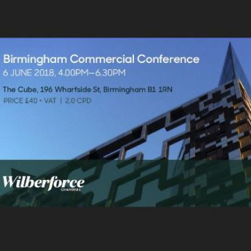 Photo of Birmingham Commercial Conference