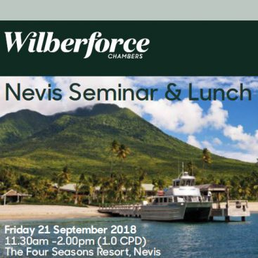 Photo of Nevis Lunchtime Seminar 2018