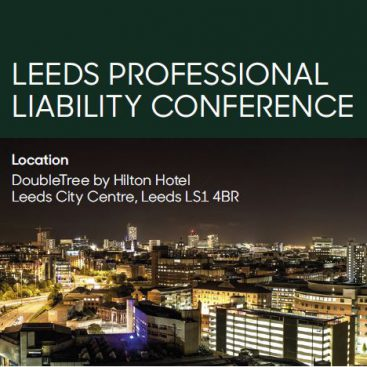 Photo of Leeds Professional Liability Conference