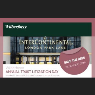 Photo of Annual Trust Litigation Day 2019