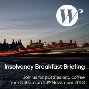 Photo of Insolvency Breakfast Briefing