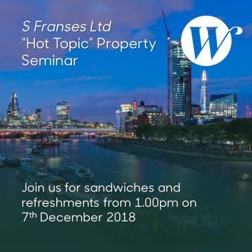"Photo of S Franses Ltd ""Hot Topic"" Property Seminar"