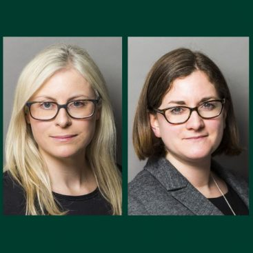 Photo of Tiffany Scott QC and Charlotte Black to appear in Supreme Court case of Sequent Nominees v Hautford