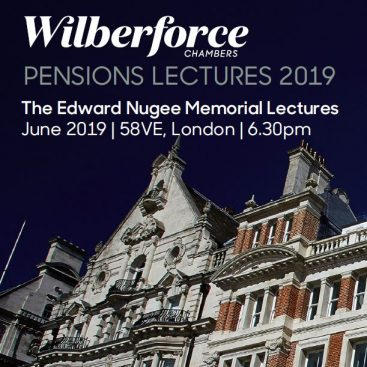 Photo of Pensions Lectures 2019 #3