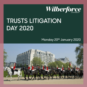 Photo of Wilberforce Trusts Litigation Day 2020