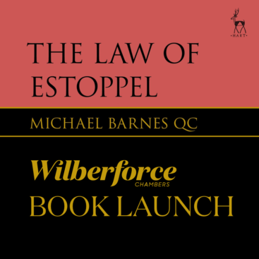 Photo of Book Launch: The Law of Estoppel by Michael Barnes QC