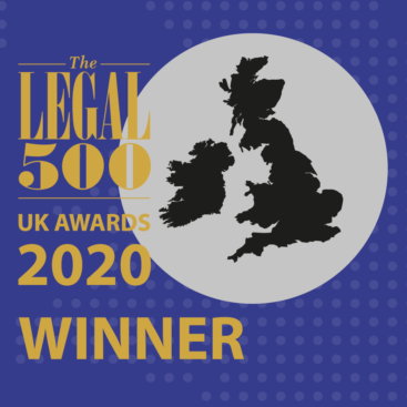Photo of Wilberforce win in four categories at The Legal 500 2020 UK Awards
