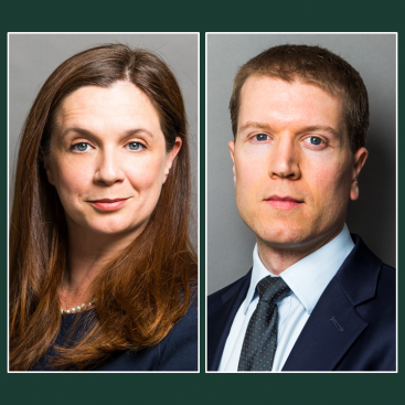 Photo of Zoë Barton and Andrew Mold to be appointed Queen's Counsel