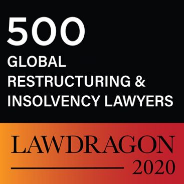 Photo of Four Wilberforce members feature on the Lawdragon 500 leading global restructuring and insolvency lawyers list