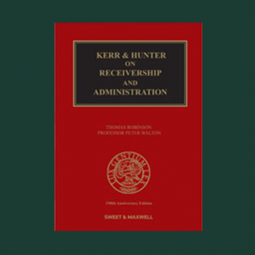 Photo of Wilberforce co-edits and contributes to Kerr & Hunter on Receivership & Administration (21st Edition)