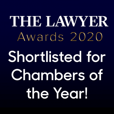 Photo of Wilberforce shortlisted for Chambers of the Year at The Lawyer Awards 2020