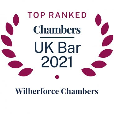 "Photo of Chambers & Partners 2021: Wilberforce is ""a supremely sophisticated and well-established set"""