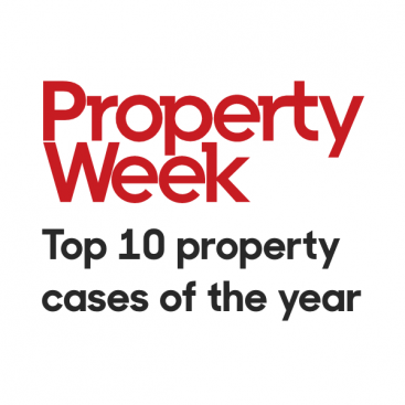 Photo of Six Wilberforce barristers feature in Property Week's top 10 cases of the year
