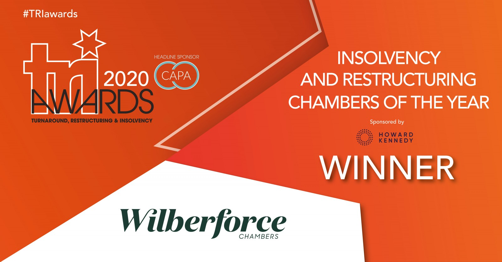 Insolvency & Restructuring Chambers of the Year at the TRI Awards 1