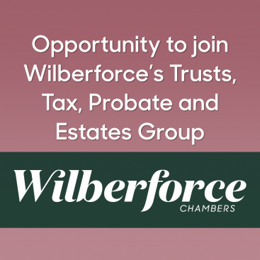Photo of Opportunity to join Wilberforce's Trusts, Tax, Probate and Estates Group