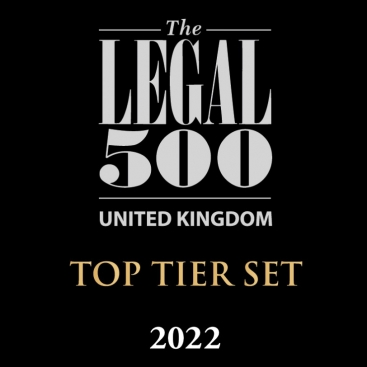"""Photo of The Legal 500 2022: """"Wilberforce is the best chancery commercial Chambers there is. It has great strength at all levels."""""""